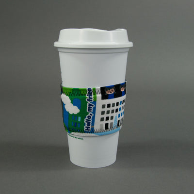 Shinkansen Coffee Cup Sleeve, Coffee Cup Sleeve, - MarshMueller