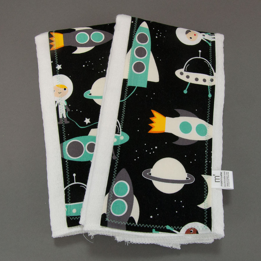 Space Explorers Burp Cloth Set