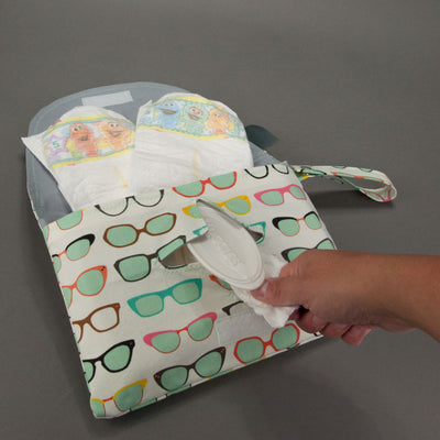 Spectacular Diaper + Wipe Clutch, Diaper + Wipe Clutch, - MarshMueller