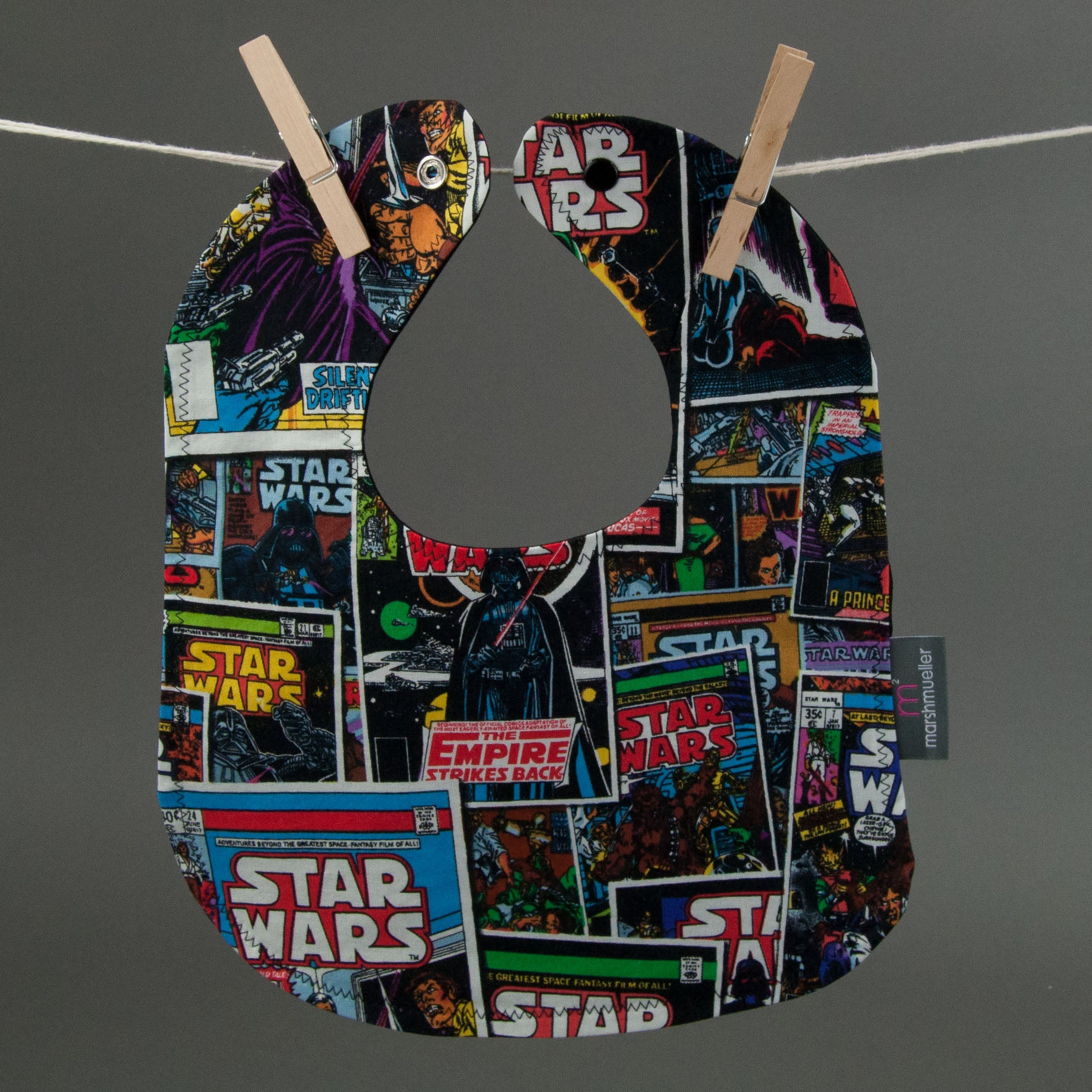 Sci-Fi Comic Book Bib