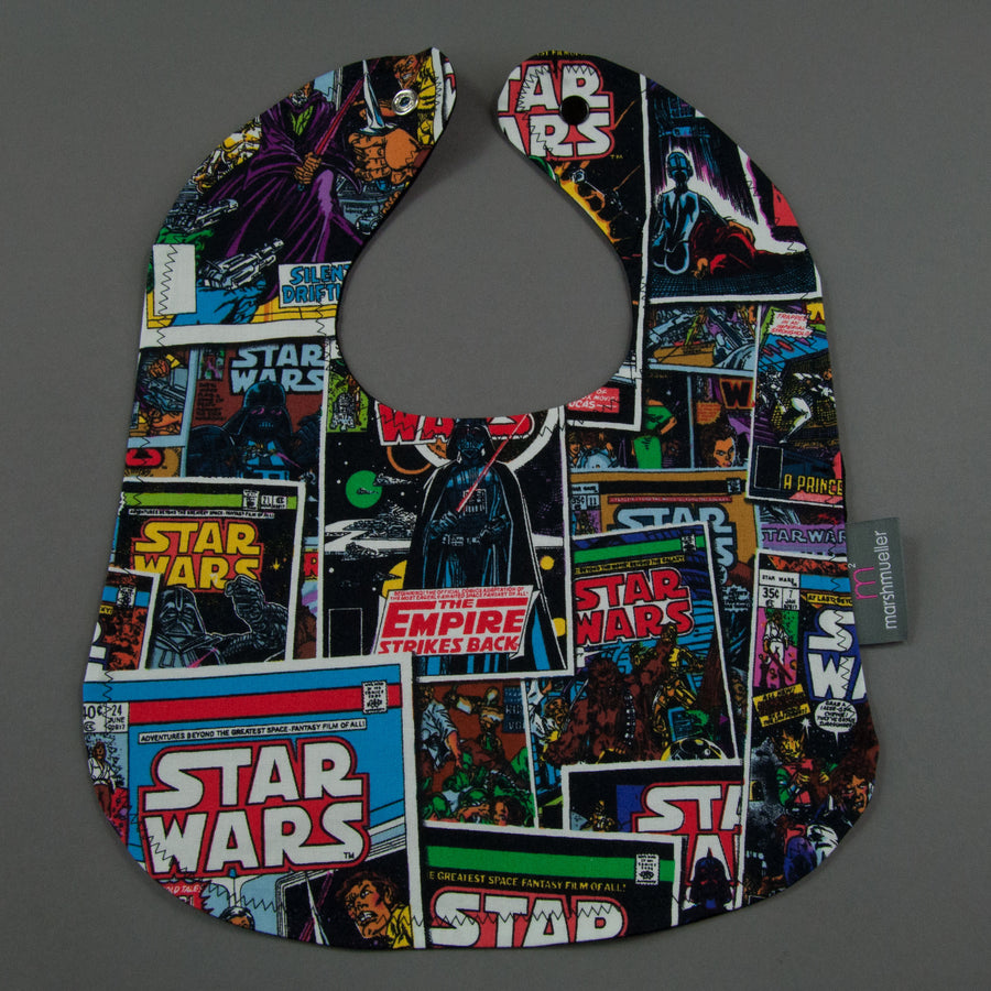 Star Wars Comic Book Bib by MarshMueller