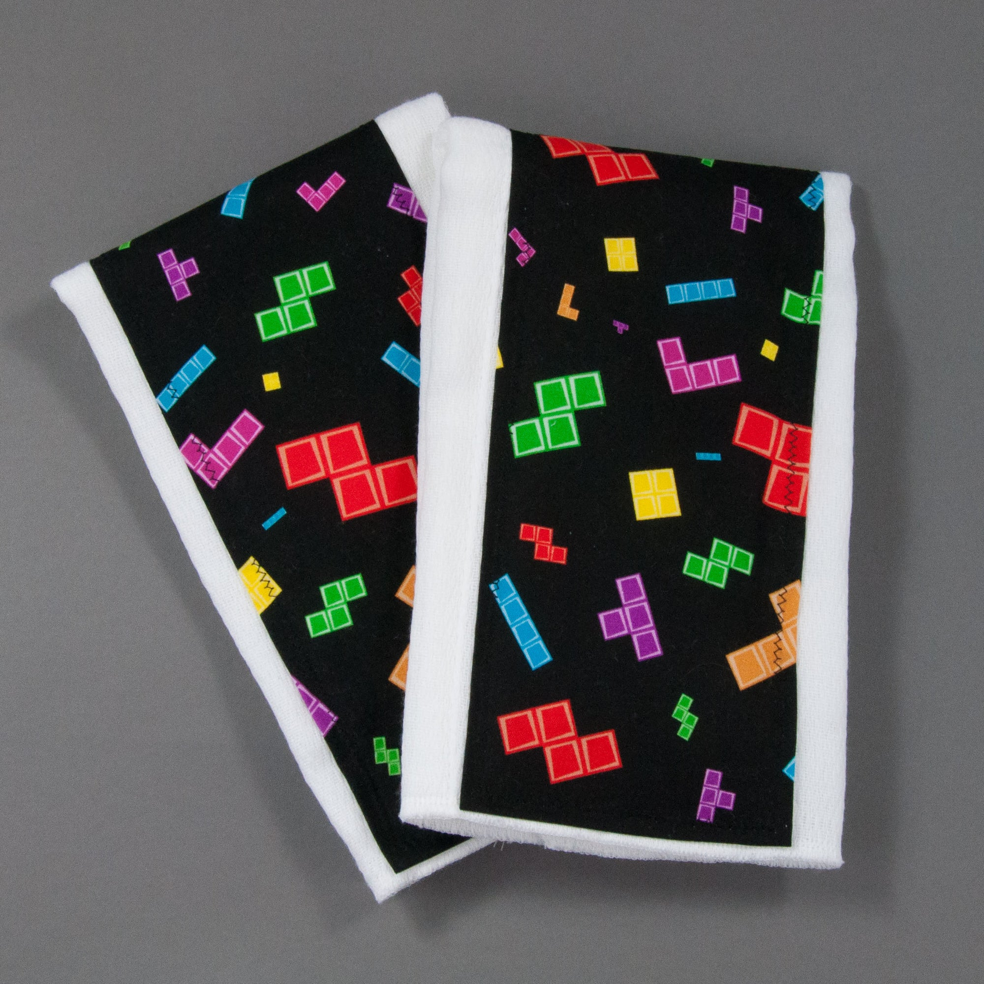 Tetris Burp Cloth Set, Burp Cloth Set, - MarshMueller