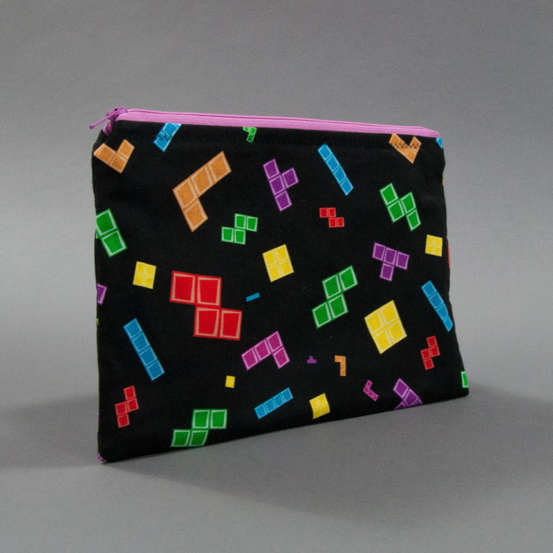 Tetris Zippy Bag
