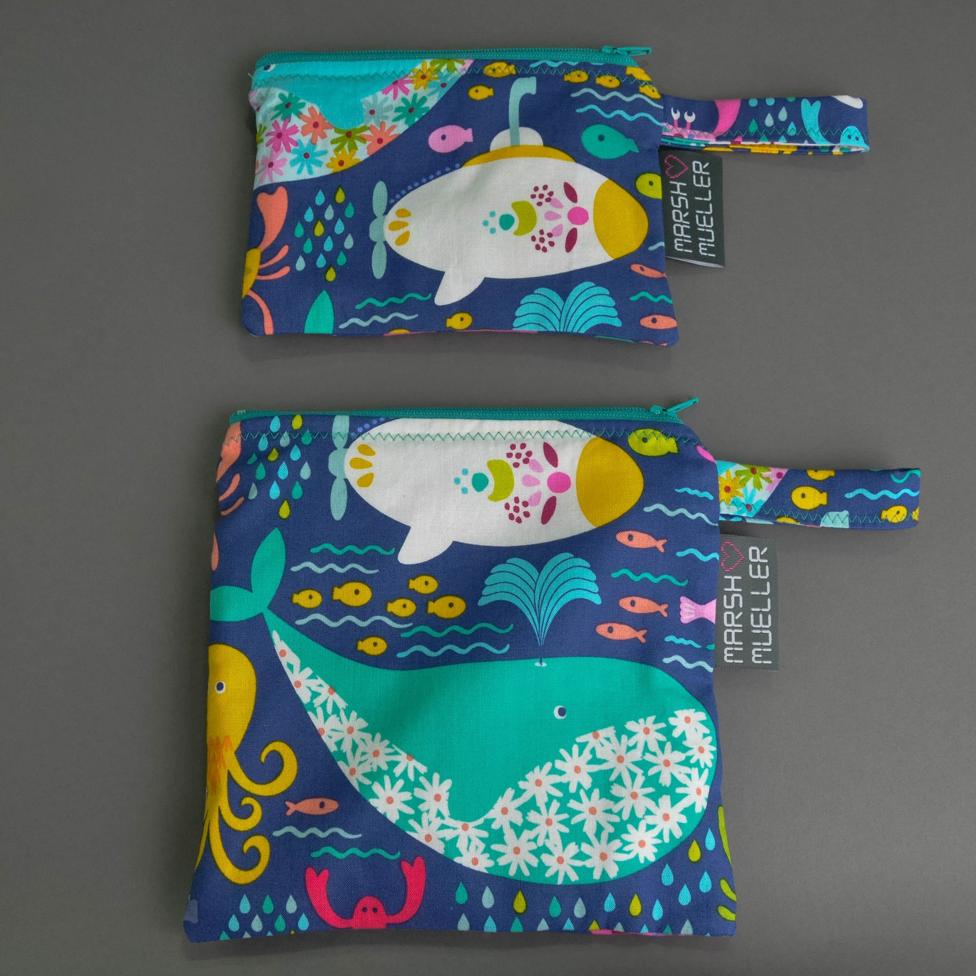 Under the Sea Snack and Sandwich Bag Bundle