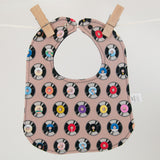 Vintage Records Bib by MarshMueller
