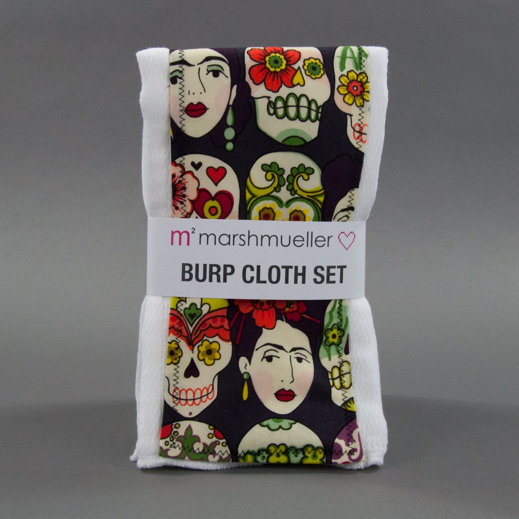 Viva Frida Burp Cloth Set