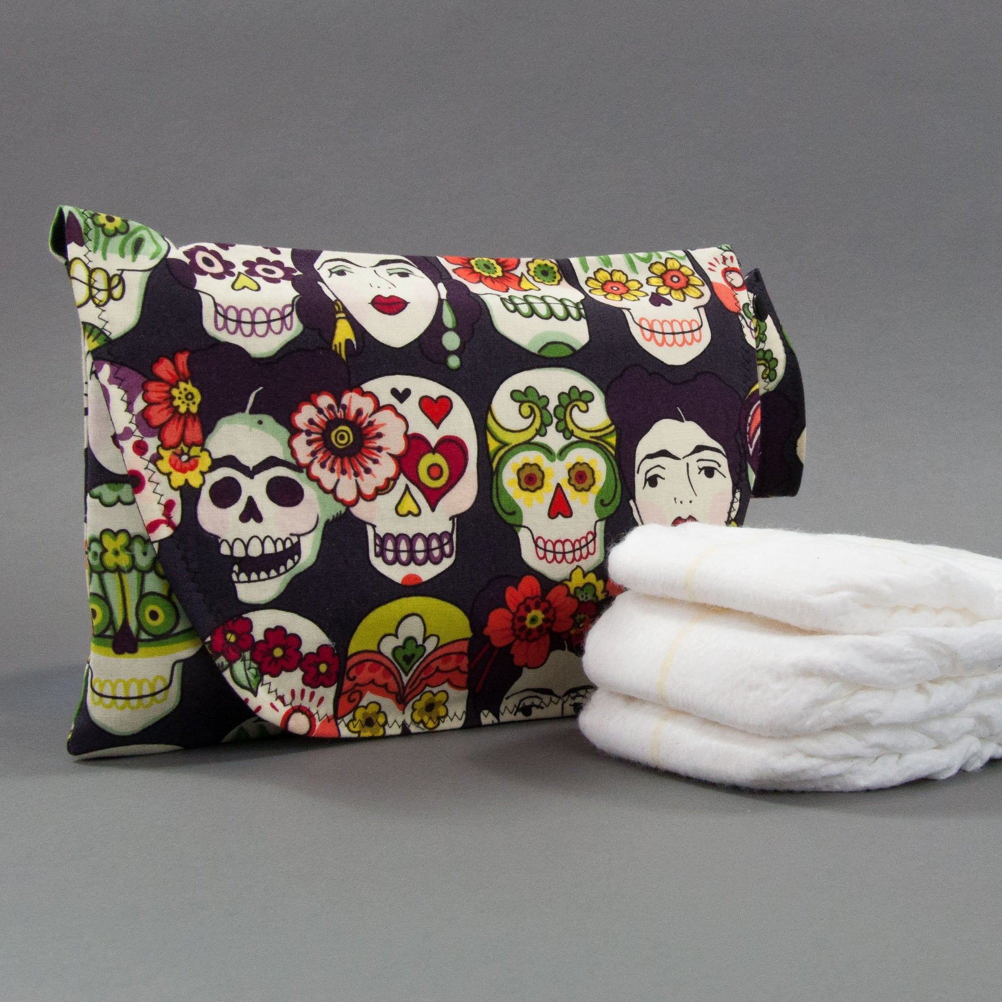 Viva Frida Diaper + Wipe Clutch, Diaper + Wipe Clutch, - MarshMueller