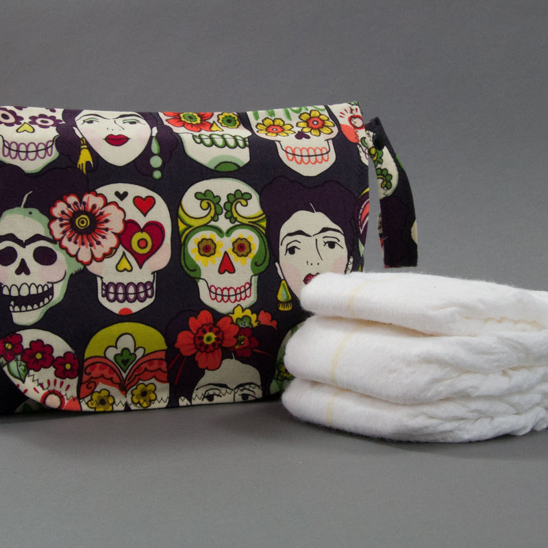 Viva Frida Diaper + Wipe Clutch