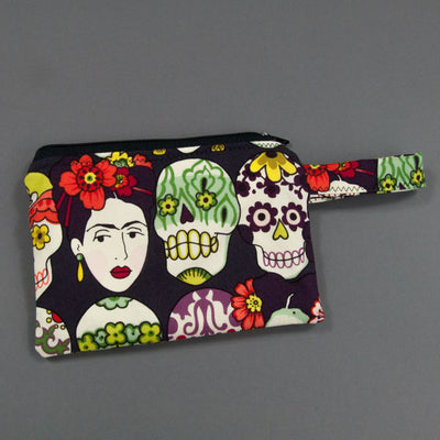 Viva Frida Reusable Snack Bag, Reusable Snack Bag, - MarshMueller