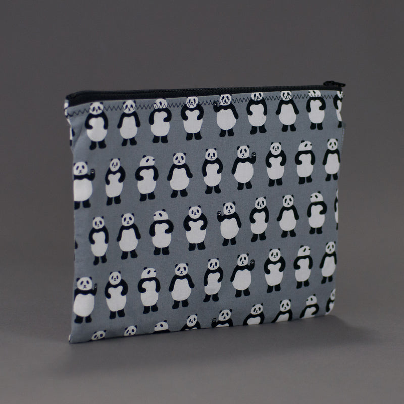 Teeny Panda Bears Zippy Bag