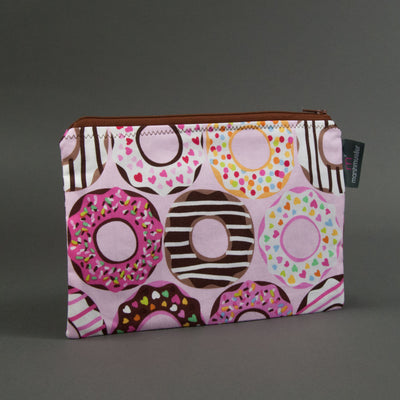 Pink Doughnuts Zippy Bag, Zippy Bag, - MarshMueller