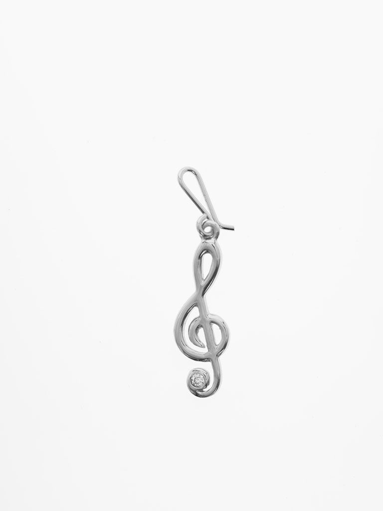 SWEET MELODY Hook Charm 925 Sterling Silver