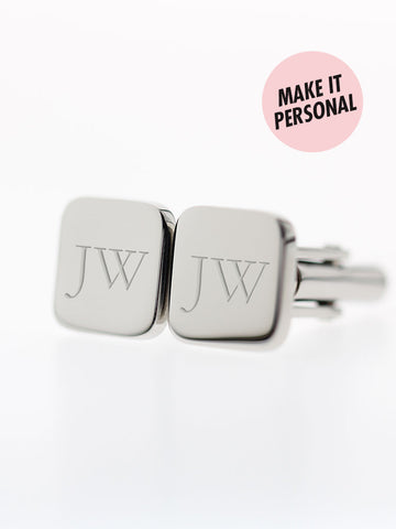 Engravable GRAYSON's Squircle Cufflinks 316L Stainless Steel