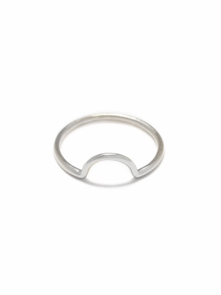 LUNETTE Ring 925 Sterling Silver