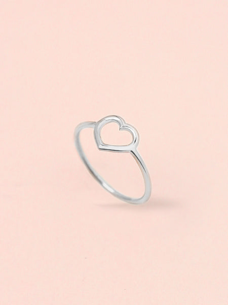[PRE-ORDER] LOVE STRUCK HEART Ring 925 Sterling Silver