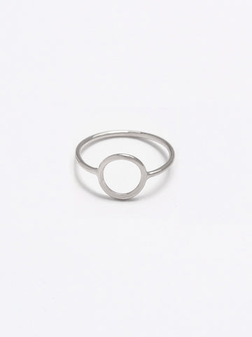 KARMA Full Circle Ring 925 Sterling Silver