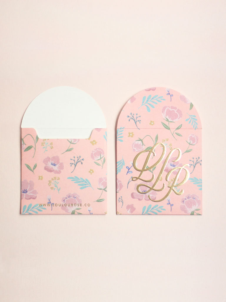 Floral PINK PACKETS