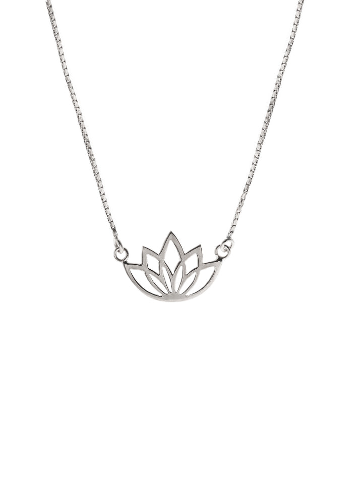 LOTUS Necklace 925 Sterling Silver