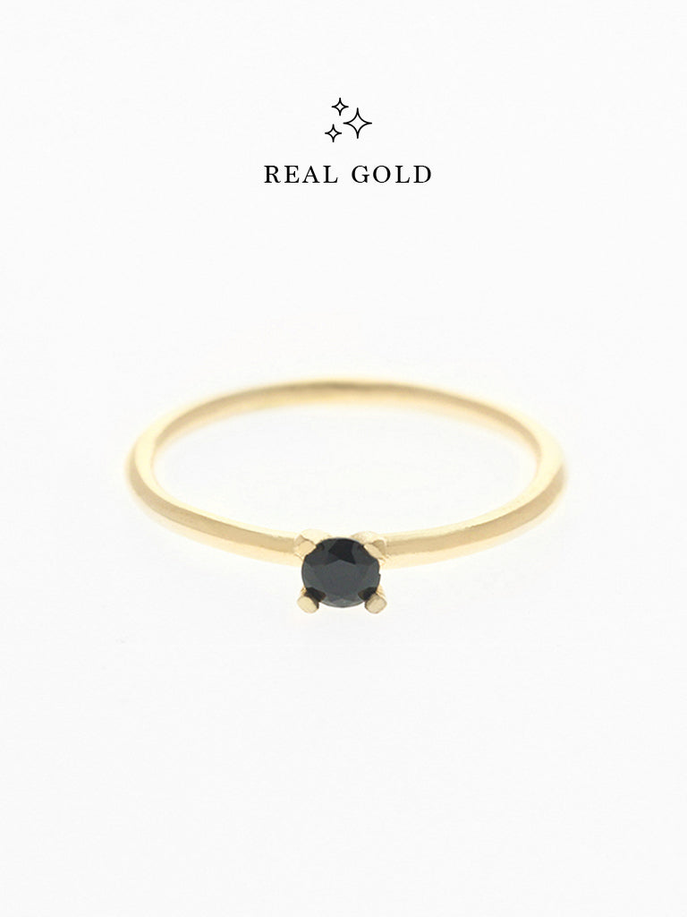[REAL GOLD] MALEFICENT Ring 16.8k Yellow Gold