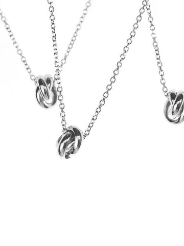 TRINITY Necklace 925 Sterling Silver