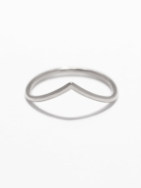 VENUS Chevron Ring 925 Sterling Silver