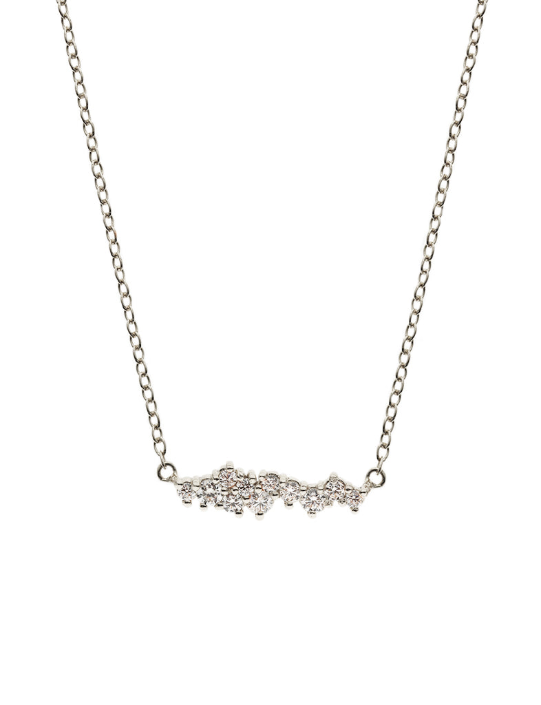 SUPERNOVA Zirconia Necklace 925 Sterling Silver