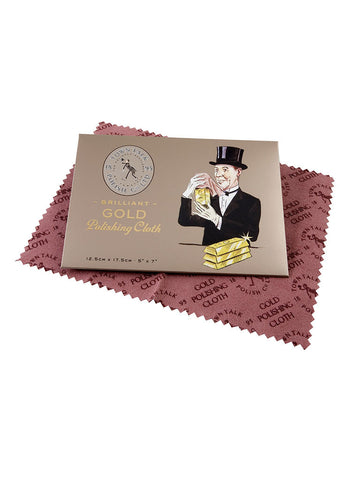 Big Anti-Tarnish GOLD Polishing Cloth