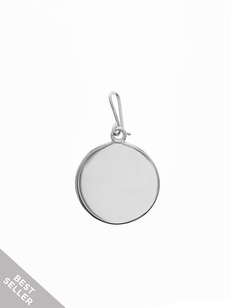 FULL CIRCLE Hook Charm 925 Sterling Silver