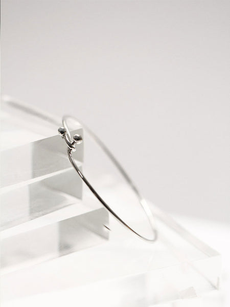 MADDIE's Open Bangle 925 Sterling Silver