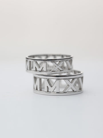 Personalized MALORY's Roman Ring