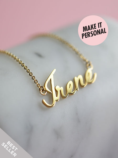 Personalized LOULOU's Nameplate Necklace