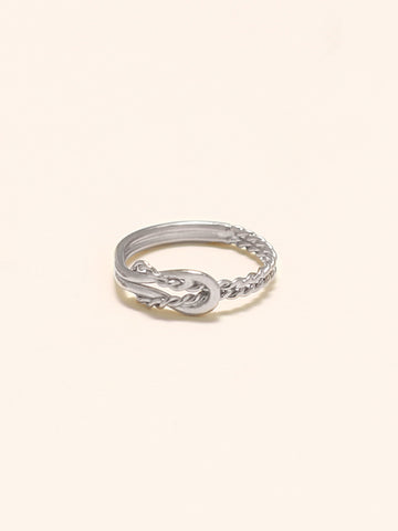 KNOTTED ODYSSEY Ring 925 Sterling Silver