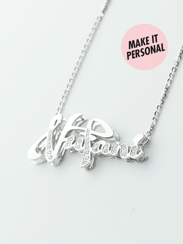 Personalized HARPER's Double Decker Necklace