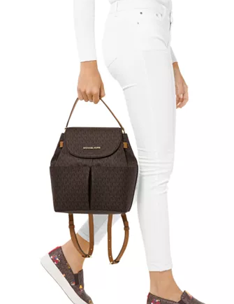Michael Michael Kors Bedford Signature Convertible Backpack