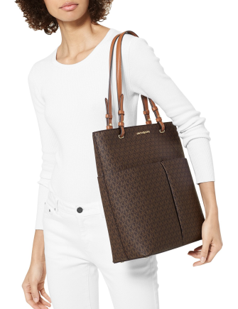 Michael Michael Kors Bedford Large North South Signature Tote