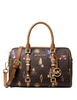 Michael Michael Kors Bedford Travel Leather Small Duffle Satchel