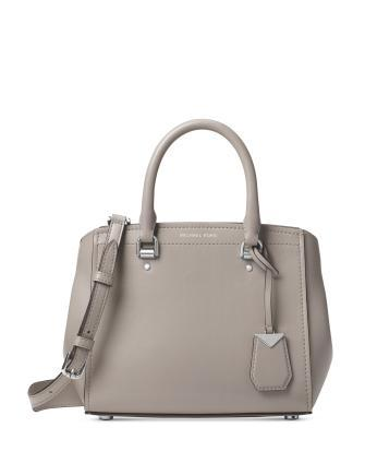 Michael Michael Kors Benning Leather Messenger