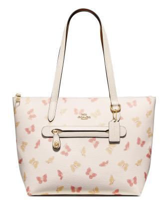 Coach Butterfly Print Taylor Tote