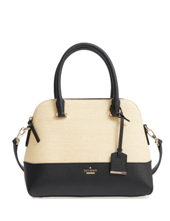 Kate Spade New York Cameron Street Straw Maise Satchel