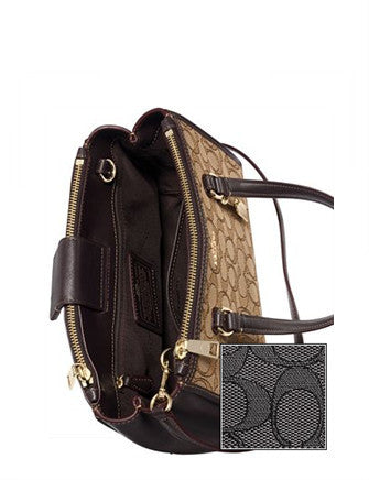 Coach Stanton Carryall 26 in Signature Jacquard