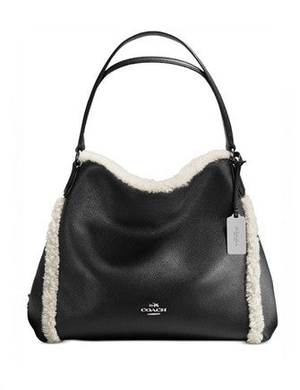 Coach Shearling Edie Shoulder Bag 31