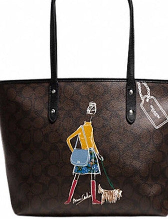 Coach Signature Bonnie Cashin Limited Edition City Zip Tote