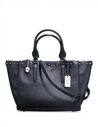 Coach Crosby Carryall in Floral Rivets Leather