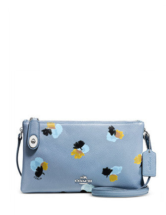 Coach Crosby Crossbody in Floral Print Pebble Leather