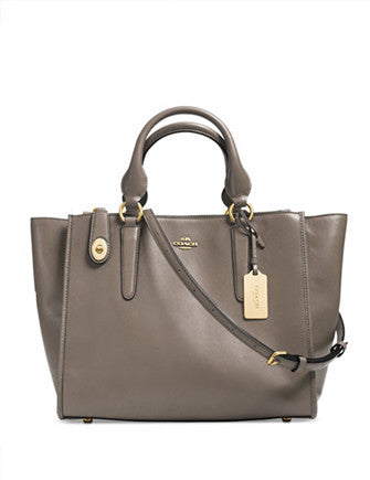 Coach Crosby Carryall Zip Top In Smooth Leather