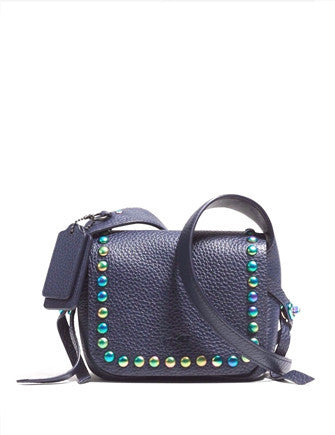 Coach Oil Slick Rivets Dakotah 14