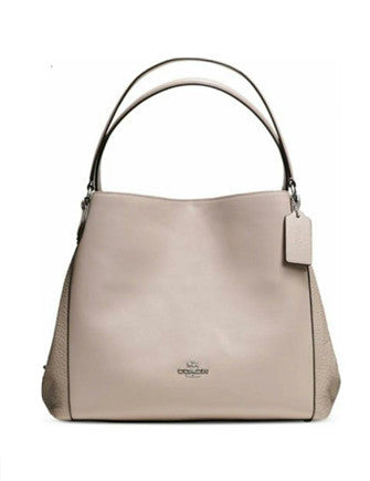 Coach Edie Shoulder Bag 31 In Mixed Leather