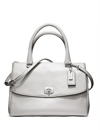 Coach Legacy Pinnacle Leather Harper Satchel