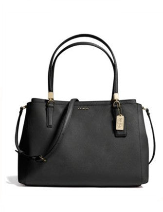 Coach Madison Christie Carryall In Saffiano Leather