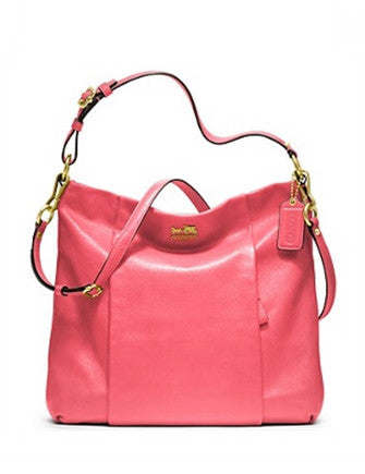 Coach Madison Pebble Leather Isabelle Hobo Bag